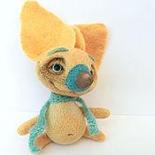 """Куклы и игрушки ручной работы. Ярмарка Мастеров - ручная работа войлочная игрушка """"Шелковый нос"""". Handmade."""