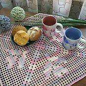 """Для дома и интерьера ручной работы. Ярмарка Мастеров - ручная работа Комплект салфеток """"Завтрак в Провансе"""". Handmade."""