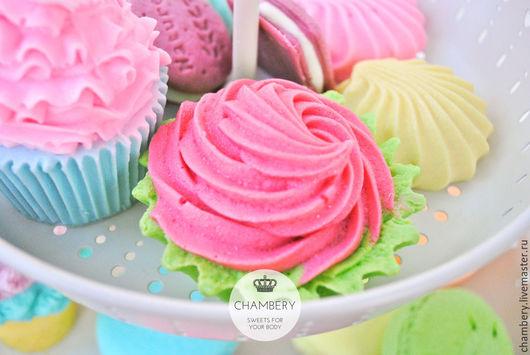 """Мыло ручной работы. Ярмарка Мастеров - ручная работа. Купить Мыло с нуля """"Cream cake"""". Handmade. Розовый, подарок женщине"""