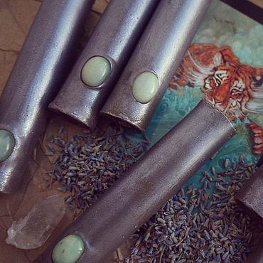 """Для дома и интерьера ручной работы. Ярмарка Мастеров - ручная работа Свеча """"Безмятежность"""". Handmade."""