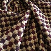Материалы для творчества handmade. Livemaster - original item Italian jacquard 100% wool double-sided suit-and-dress. Handmade.