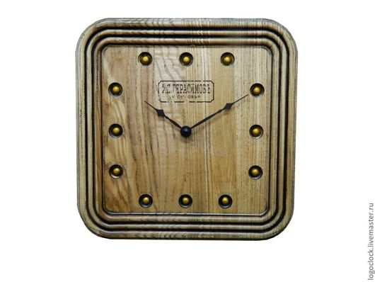 Часы для дома ручной работы. Ярмарка Мастеров - ручная работа. Купить Настенные часы....светлый ясень. Handmade. Бежевый, бук