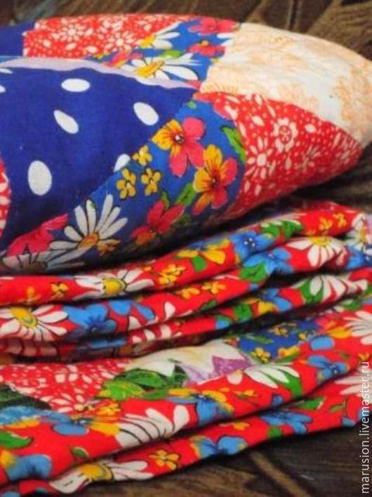 Текстиль, ковры ручной работы. Ярмарка Мастеров - ручная работа. Купить одеяло. Handmade. Лоскутное одеяло, одеяло пэчворк, синтепон