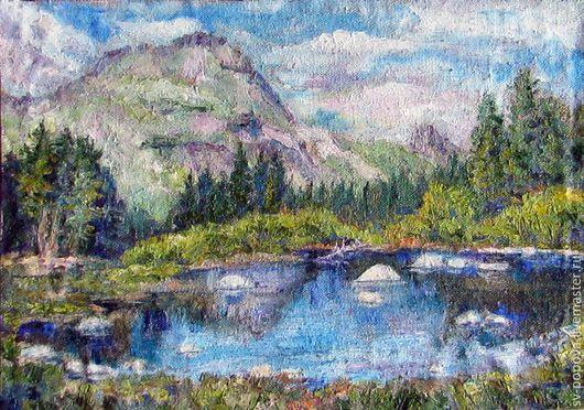 Озеро в Ергаках