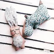 Куклы и игрушки ручной работы. Ярмарка Мастеров - ручная работа Зайка нежный. Handmade.