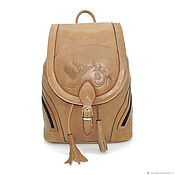 b236f5b2ab2f Burgundy women s leather backpack