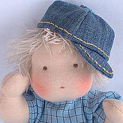 Куклы и игрушки ручной работы. Ярмарка Мастеров - ручная работа Мальчик текстильная кукла. Handmade.