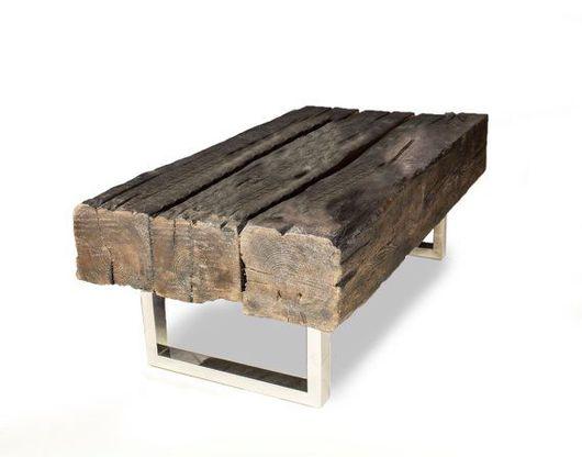 Мебель ручной работы. Ярмарка Мастеров - ручная работа. Купить Стол из брусьев. Handmade. Стол, столик журнальный, лофт мебель