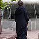 Верхняя одежда ручной работы. Заказать Пальто Чернильное. Наталья Цветкова (Yubki-vezdehody). Ярмарка Мастеров. Тёмно-синий, однотонный