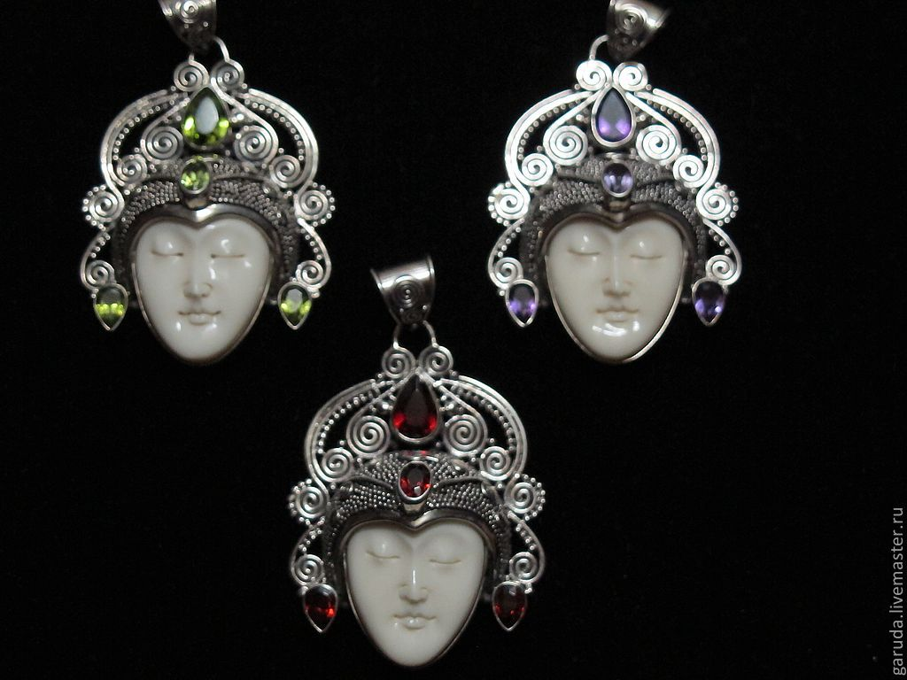Pendant Buddha With Peridot Shop Online On Livemaster