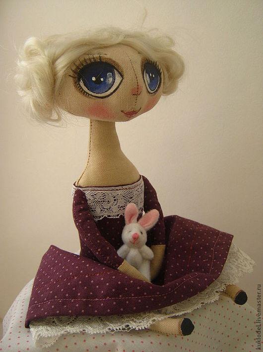 Куклы тыквоголовки ручной работы. Ярмарка Мастеров - ручная работа. Купить Белла. Handmade. Кукла, ручная работа, кружево