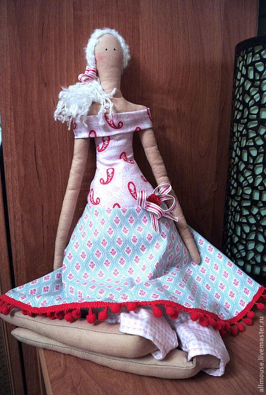 Куклы Тильды ручной работы. Ярмарка Мастеров - ручная работа. Купить Кукла Тильда.  Мэри. Handmade. Тильда, на заказ