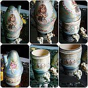 Для дома и интерьера ручной работы. Ярмарка Мастеров - ручная работа Баночка для сахара или чая. Handmade.
