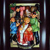 """Картины и панно ручной работы. Ярмарка Мастеров - ручная работа """"Семья"""". Handmade."""