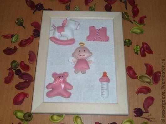 """Подарки для новорожденных, ручной работы. Ярмарка Мастеров - ручная работа. Купить Наборы  """" Малютка"""". Handmade. Розовый, на рождение девочки"""
