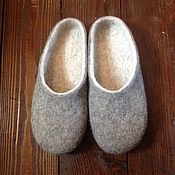 Обувь ручной работы handmade. Livemaster - original item Felted Slippers for woman