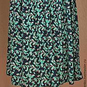 Одежда ручной работы. Ярмарка Мастеров - ручная работа Юбка из штапеля лиана. Handmade.