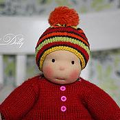 Куклы и игрушки ручной работы. Ярмарка Мастеров - ручная работа Мика - игровая   кукла ручной работы в вальдорфском стиле. Handmade.