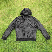 Мужская одежда handmade. Livemaster - original item Men`s python jacket with MARCO hood. Handmade.