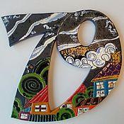 Дизайн и реклама ручной работы. Ярмарка Мастеров - ручная работа Номер для дома или дачи. Handmade.