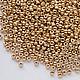Для украшений ручной работы. Мацуно  24К  №11 золотое покрытие японский бисер 24 каратный 5 гр. GalA beads. Интернет-магазин Ярмарка Мастеров.