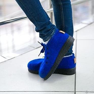 Footwear handmade. Livemaster - original item Felted baby shoes School indoor shoes. Handmade.