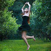 """Одежда ручной работы. Ярмарка Мастеров - ручная работа """"Яблочный эльф"""" (корсет+юбка). Handmade."""