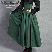 Одежда handmade. Livemaster - original item Victorian  Downton Abbey Skirt. Handmade.
