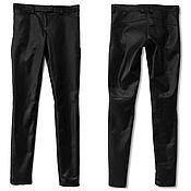 Одежда handmade. Livemaster - original item Leather leggins. Handmade.