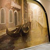 """Дизайн и реклама ручной работы. Ярмарка Мастеров - ручная работа роспись стены """"Венеция"""". Handmade."""