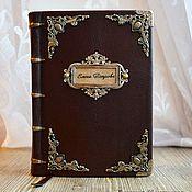 Канцелярские товары handmade. Livemaster - original item Inscribed dated diary. Record book. Handmade.