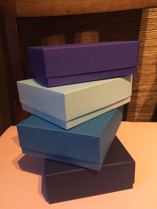 Упаковка ручной работы. Ярмарка Мастеров - ручная работа. Купить Коробочки 12-10-4 см +бирки , коробки готовы к получению. Handmade.