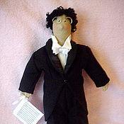 Куклы и игрушки ручной работы. Ярмарка Мастеров - ручная работа Тильда-пианист. Handmade.