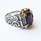 Украшения handmade. Livemaster - original item Ring silver with garnet. Handmade.