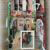 """Куклы и игрушки ручной работы. Ярмарка Мастеров - ручная работа Кукольный домик """"Из жизни кроликов"""". Handmade."""
