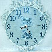 """Для дома и интерьера ручной работы. Ярмарка Мастеров - ручная работа Часы """"Sweet Home"""". Handmade."""