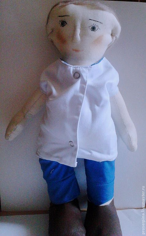 Портретные куклы ручной работы. Ярмарка Мастеров - ручная работа. Купить Кукла Доктор. Handmade. Кукла ручной работы, подарок