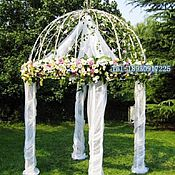 Свадебный салон ручной работы. Ярмарка Мастеров - ручная работа Прокат шатра для выездной регистрации. Handmade.