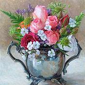 Картины и панно handmade. Livemaster - original item Pictures: Roses. Handmade.