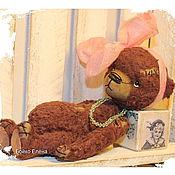 Куклы и игрушки ручной работы. Ярмарка Мастеров - ручная работа Ретро девочка...)). Handmade.