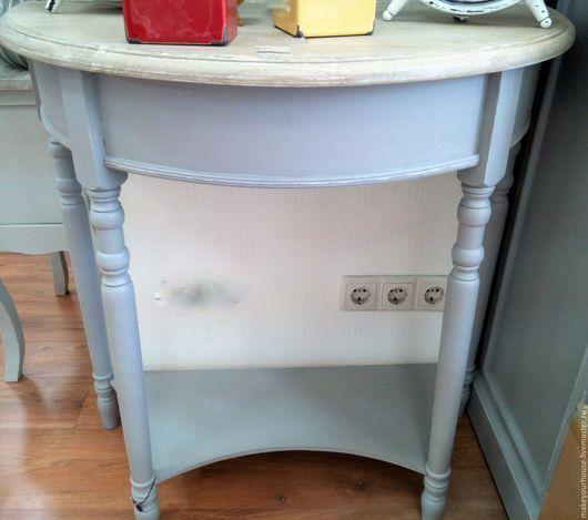 """Мебель ручной работы. Ярмарка Мастеров - ручная работа. Купить Консоль малая.Коллекция """"Классика"""". Handmade. Серый, стол"""
