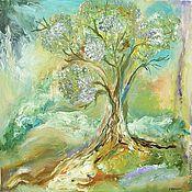 """Картины и панно ручной работы. Ярмарка Мастеров - ручная работа """" Дерево """". Handmade."""