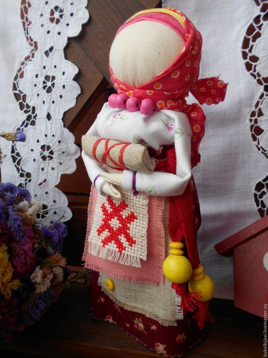 Народные куклы ручной работы. Ярмарка Мастеров - ручная работа. Купить Кукла народная на благополучную беременность и материнство.. Handmade. Бежевый