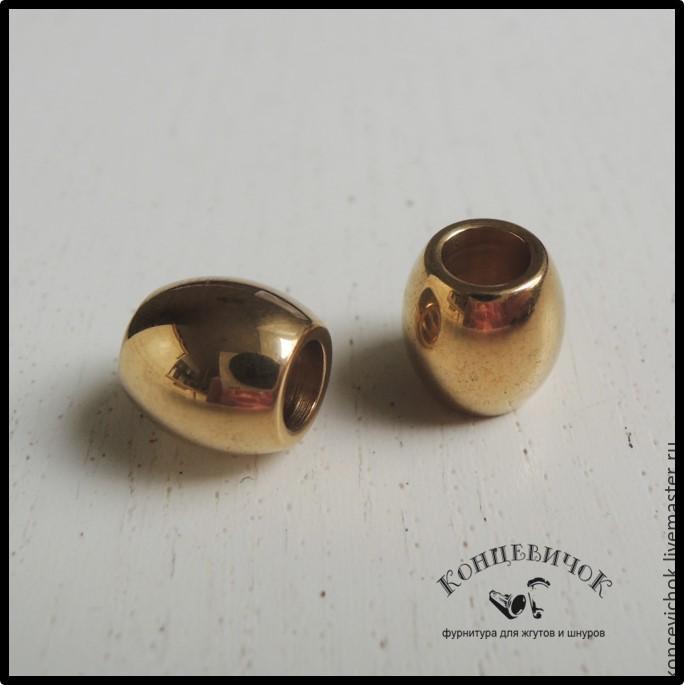Для украшений ручной работы. Ярмарка Мастеров - ручная работа. Купить Бусины 5 мм Нержавеющая СТАЛЬ золотые Германия. Handmade.
