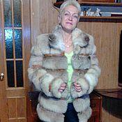 """Одежда ручной работы. Ярмарка Мастеров - ручная работа Шубка """"Корсак"""". Handmade."""