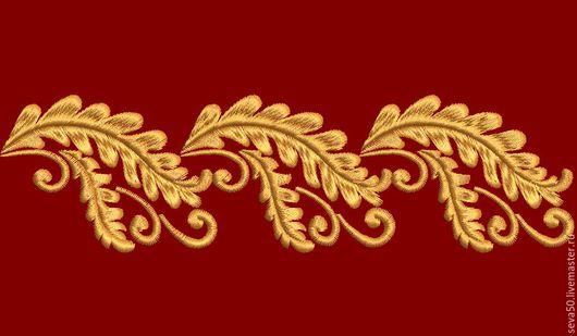 Вышивка ручной работы. Ярмарка Мастеров - ручная работа. Купить Дизайн машинной вышивки Орнамент. Handmade. Машинная вышивка, дизайн