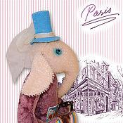 Куклы и игрушки ручной работы. Ярмарка Мастеров - ручная работа Я гуляю по Парижу. Handmade.