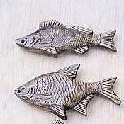 Сувениры и подарки ручной работы. Ярмарка Мастеров - ручная работа Брелок-рыбка. Handmade.
