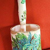 """Для дома и интерьера ручной работы. Ярмарка Мастеров - ручная работа Ступка """"Пряные травы"""". Handmade."""
