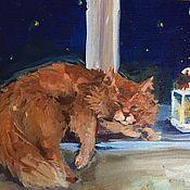Картины и панно ручной работы. Ярмарка Мастеров - ручная работа Ночной сон.. Handmade.